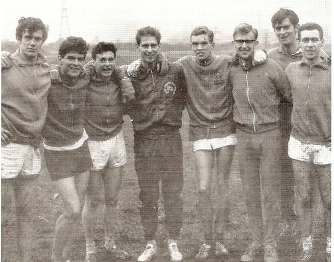 The 1965 Team (L to R: G. Evans, F. Murray, F. Gamwell, C. Elson, R. Young, I. Young, A. Matson and J. Wright