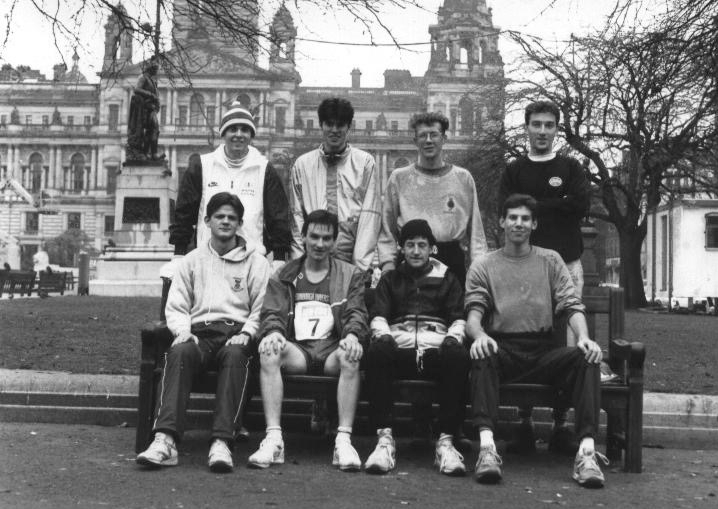 The 1991 Edinburgh to Glasgow Relay Team